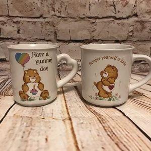 VIntage Care Bear Coffee Mugs